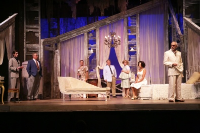 Cat on a Hot Tin Roof at GET. Photo by Dan Carmody
